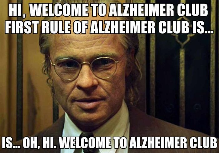 Spoof of Fight Club: 1st Rule of Alzheimer's Club