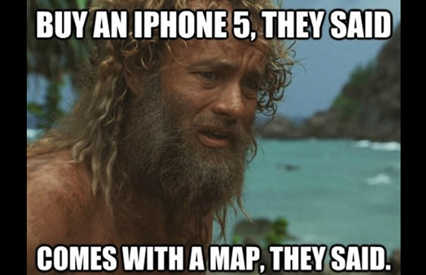 Funny Picture of The Day - Buy iPhone - Comes with Maps