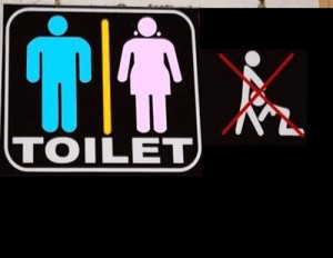 Funny Restroom Pic