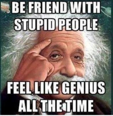 Funny Einstein about Stupid People