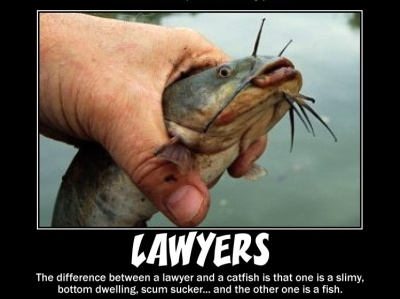 Funny Joke that Compares Lawyers to Fish