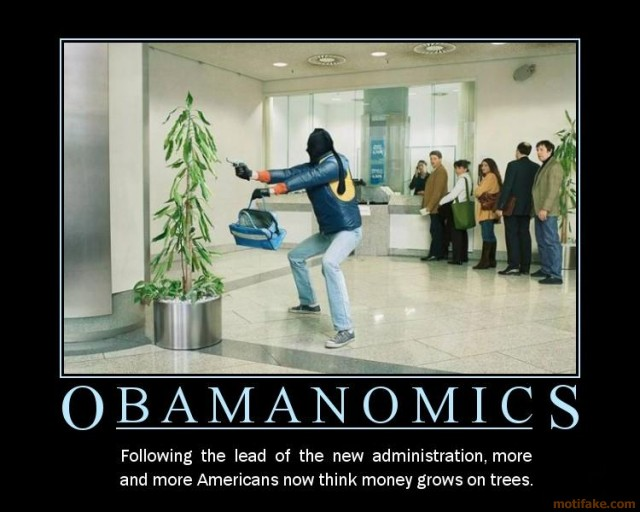 """Funny Joke about Obama and His Stupid """"Obamanomics"""" Economic Policy"""