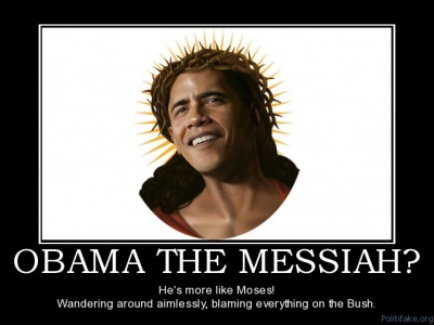 "Funny Joke about Obama the ""Messiah"""