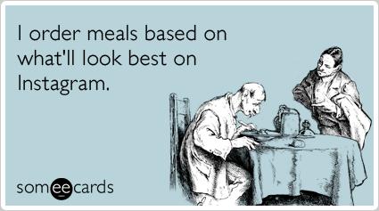 meals on instagram look best