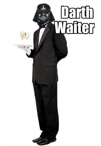 Darth Waiter - Funniest Waiter Jokes