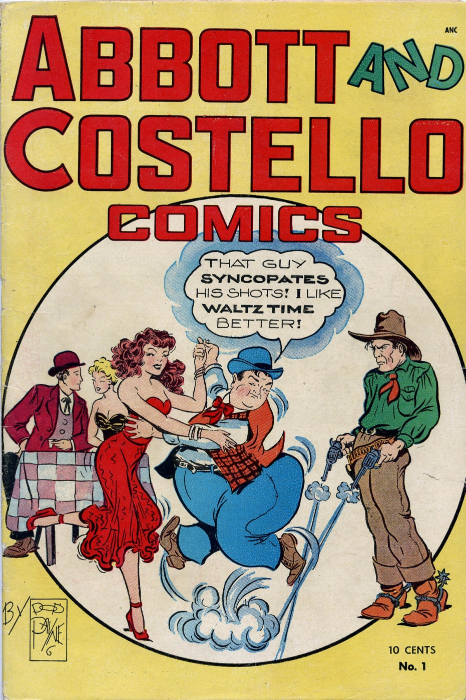 Funny Comic Strips - Abbott and Costello 001 (Feb 1948) 1