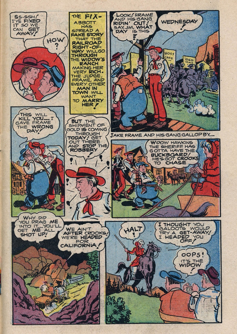 Funny Comic Strips - Abbott and Costello 001 (Feb 1948) 31