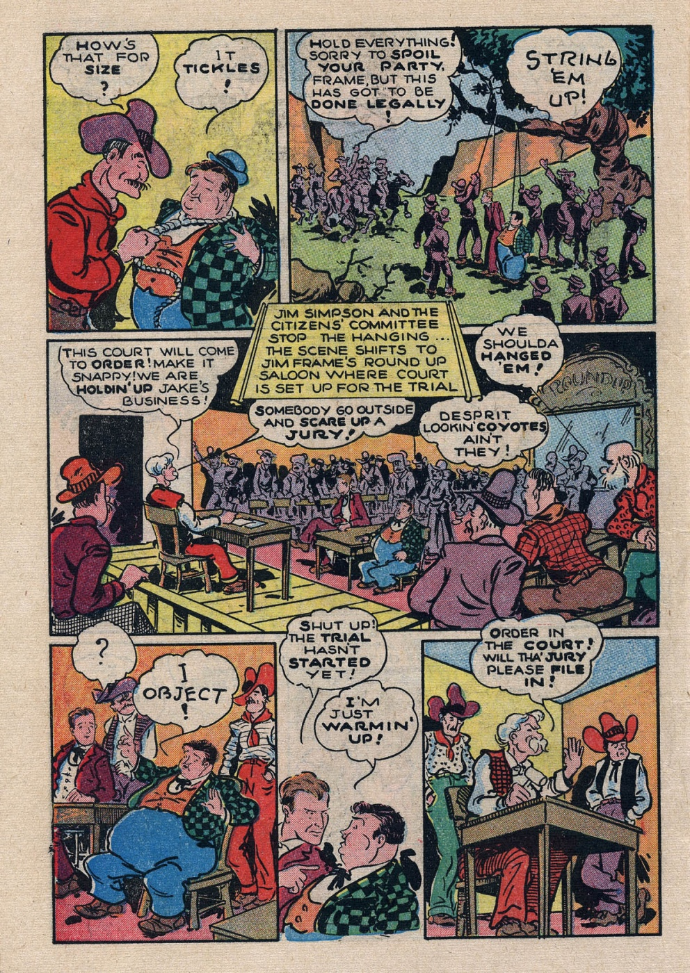 Funny Comic Strips - Abbott and Costello 001 (Feb 1948) 8