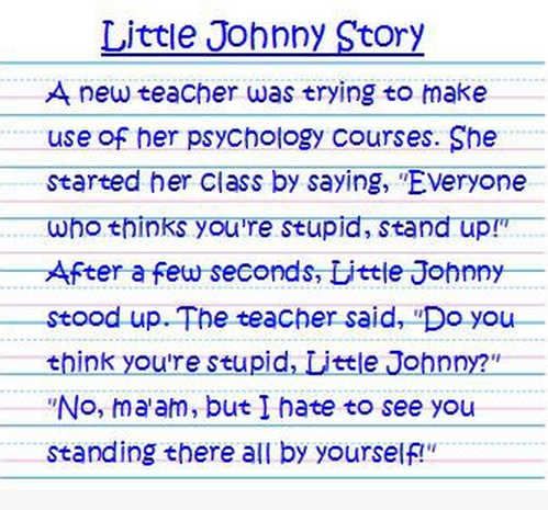 Funny-Little-Johnny-Story