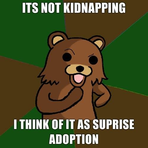 Its Not Kidnapping - Funny Picture