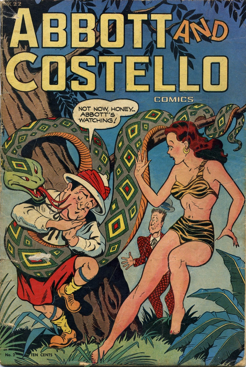 Funny Comics: Abbot and Costello #2