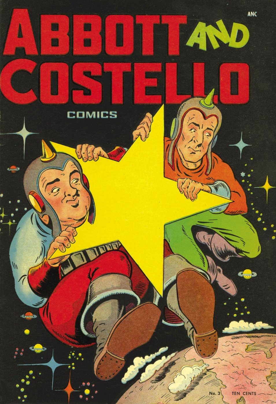 Funny Comics: Abbot and Costello #3