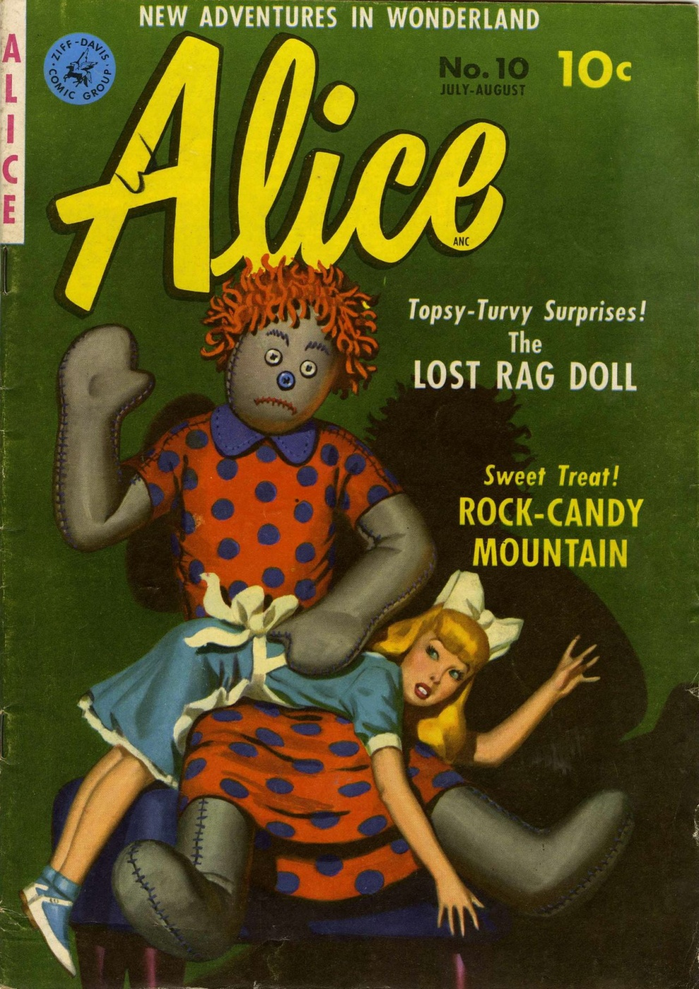 Alice in Wonderland Comics #1