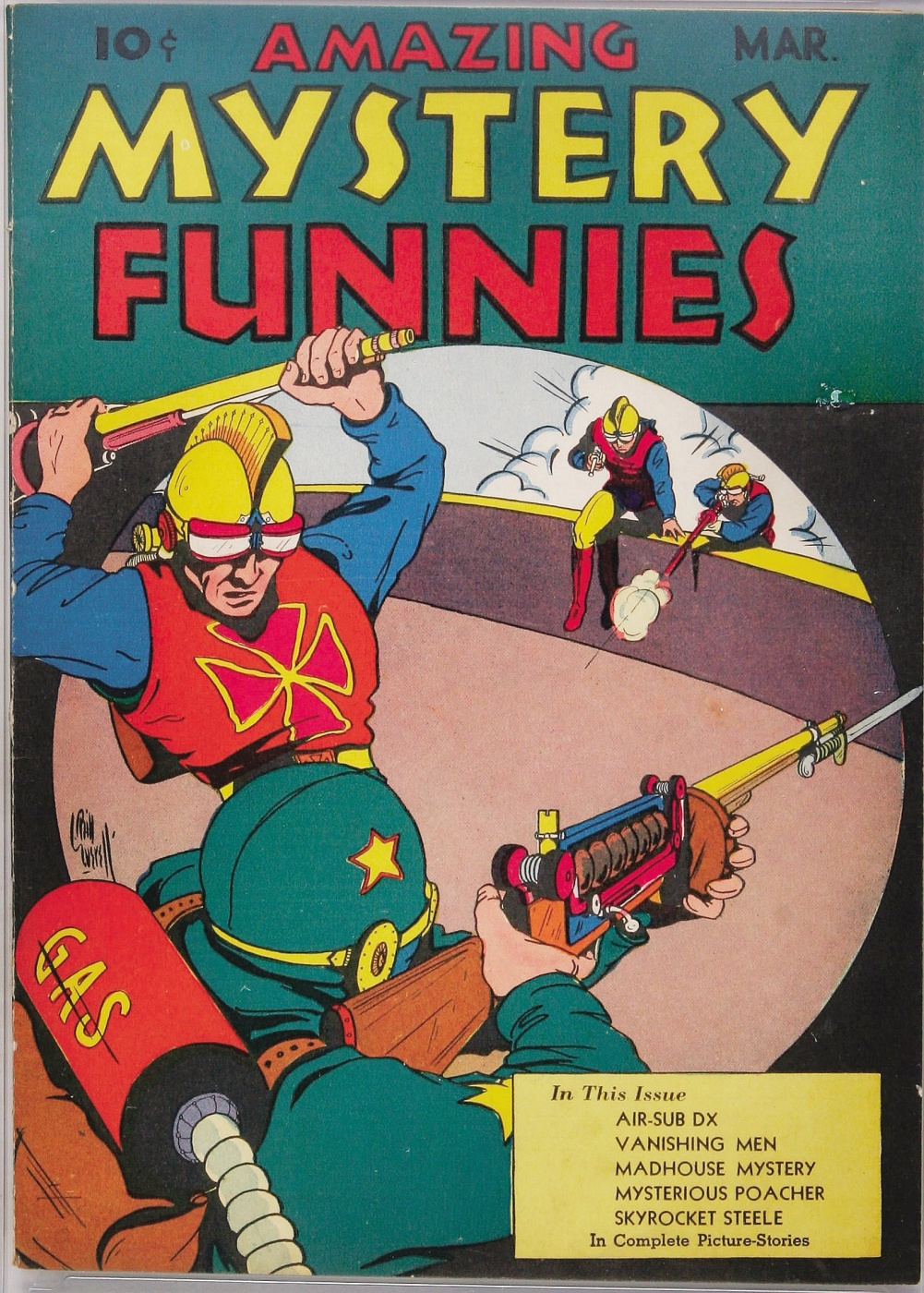 Mystery Comics: Amazing Mystery Funnies #3