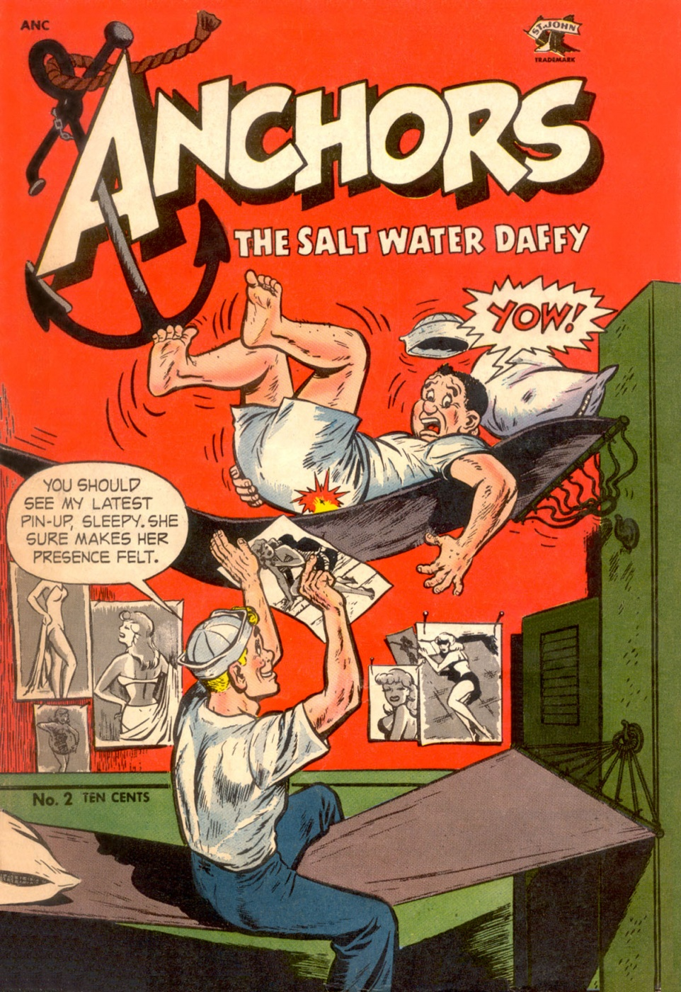 Funny Comics: Anchors the Salt Water Daffy #1