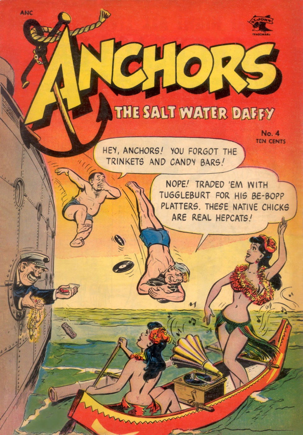 Anchors the Salt Water Daffy - Comics (c) (1)