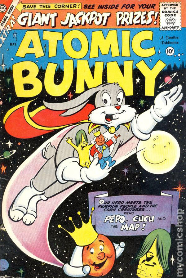 Comic Strips: Atomic Bunny #2