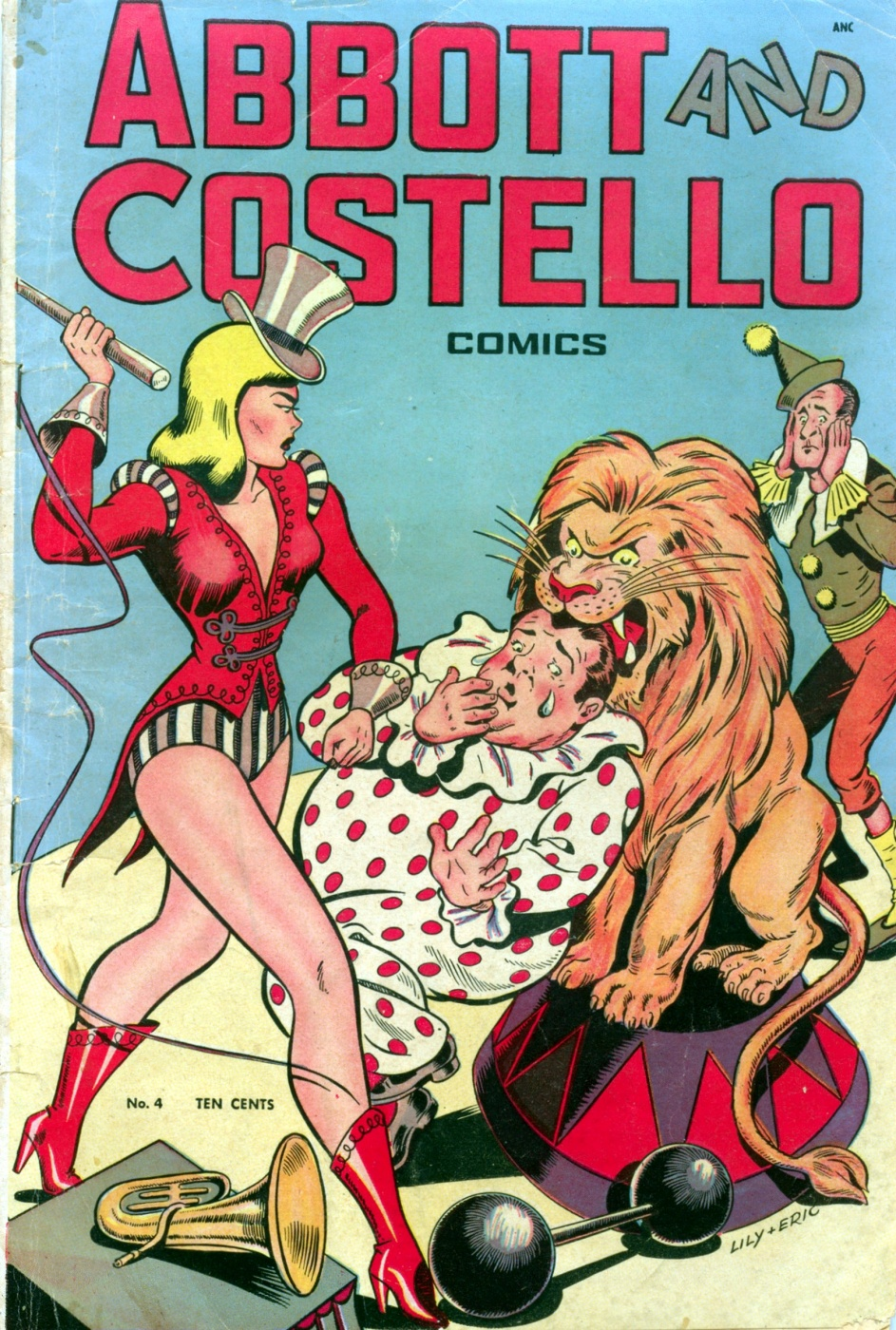 Funny Comic Strips: Abbot and Costello #4