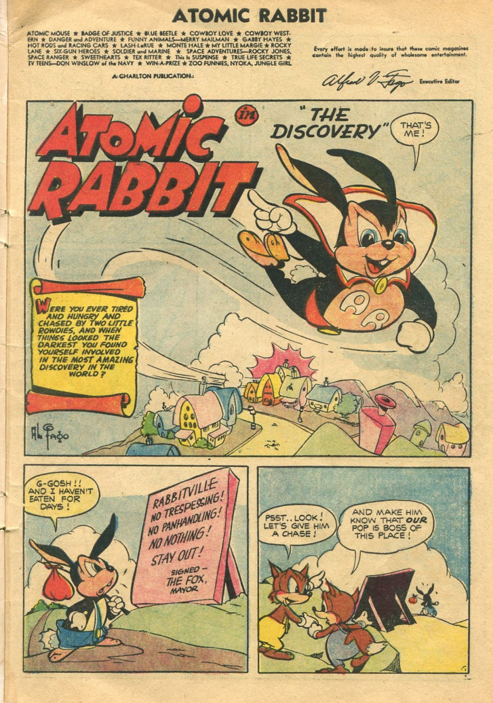 Atomic Rabbit Comics (3)
