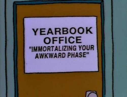 Funniest-Simpsons-Moments-yearbook-office-sign