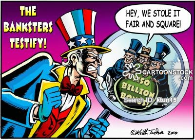 Banksters testify that they stole billions and screwed millions