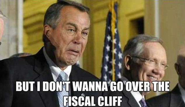 john boehner doesnt wanna go over fiscal cliff