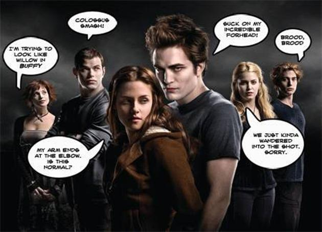 Funniest Twilight All Cast Parody Picture