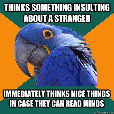 Funny Pictures of Paranoid Parrot