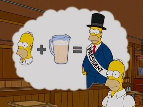 If Each of The Simpsons' Characters Became The President