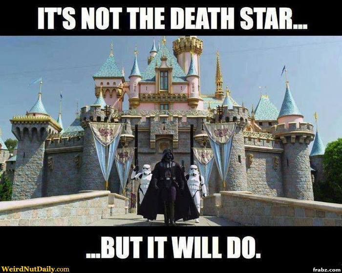 Funny-Death-Star-Meme-About-Disneyland