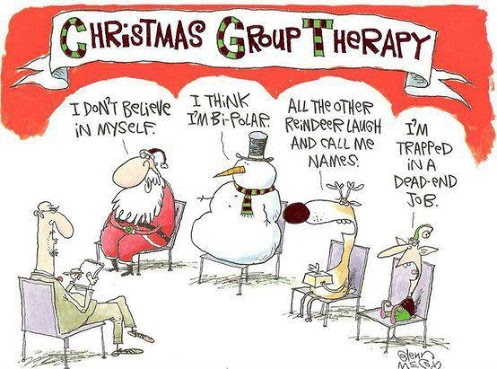 Funny Joke About Christmas Group Therapy