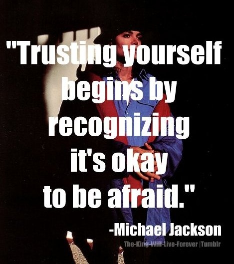 Michael Jackson Quotes About Trusting Yourself