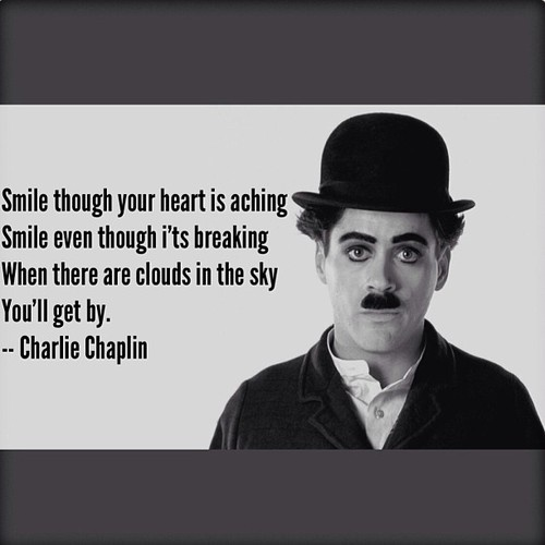Charlie Chaplin Quotes About Smiling