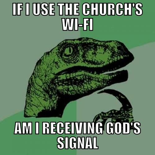 Funny Religious Jokes About Church Wi-Fi
