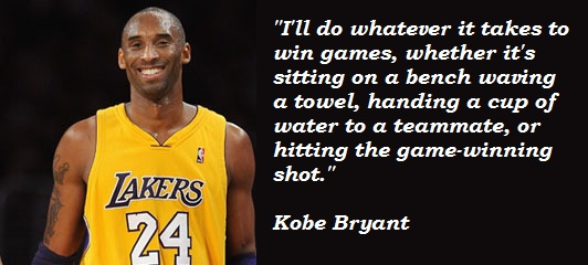 Kobe Bryant Quotes About Winning Games