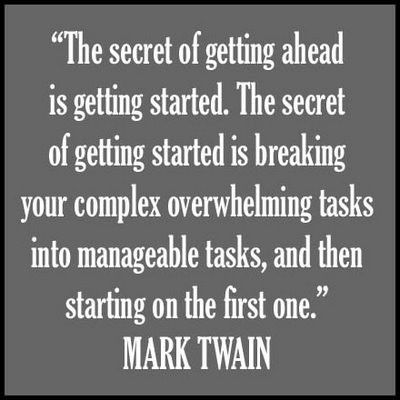 Mark Twain Quotes About Getting Ahead