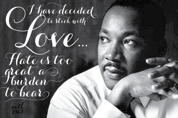 Famous Martin Luther King Jr Quotes About Love