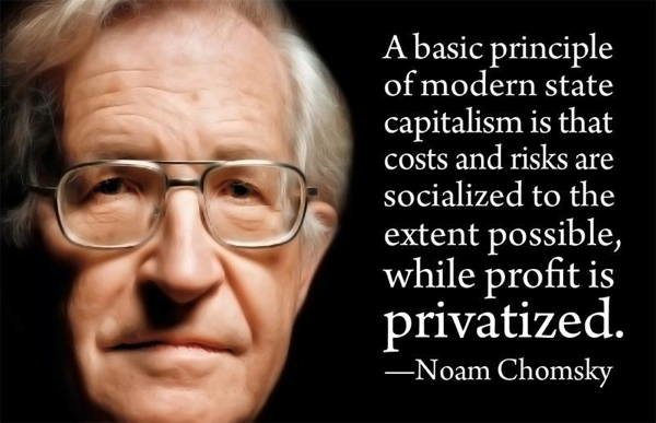 Noam Chomsky Quotes On Capitalism