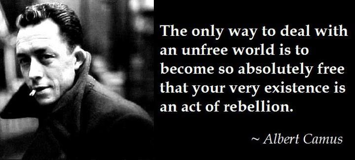 Albert Camus Quotes About Freedom