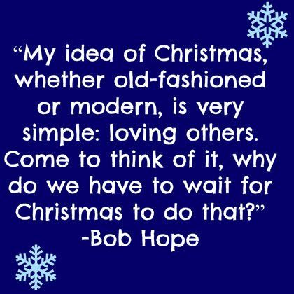 Bob Hope Jokes About Christmas