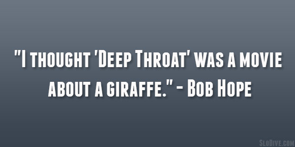 Funny Bob Hope Quotes