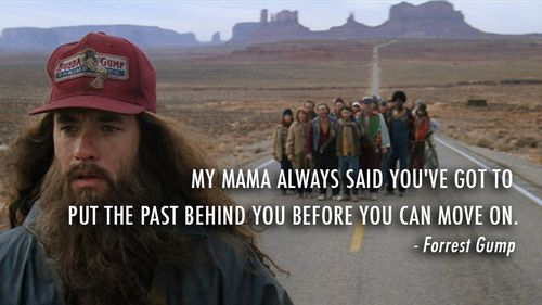 Best Forrest Gump Quotes About Moving On