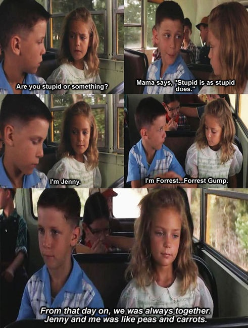 Forrest Gump Jenny Quotes