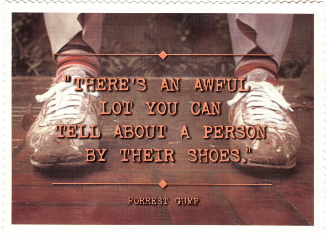 Famous Forrest Gump Quotes About Shoes