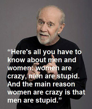 Famous George Carlin Quotes About Women