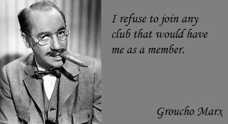 Funny Groucho Marx Quotes About Club