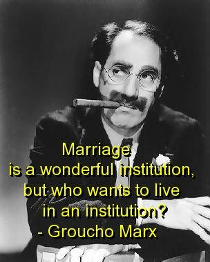 Famous Groucho Marx Quotes About Marriage