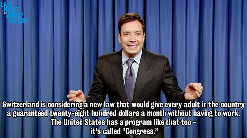 Jimmy Fallon Quotes About United States Congress