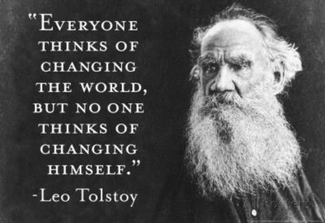 Leo Tolstoy Quotes About Changing The World