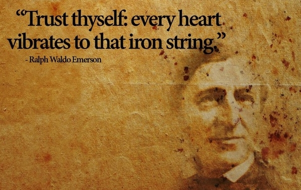 Essay on self reliance by emerson